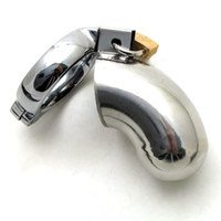 Wholesale Chastity Houdini - 10pcs The Bri Male Chastity Device The Houdini Chastity Tube Stainless Steel Chastity Cage