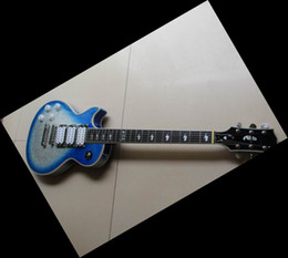 Wholesale Ace Frehley Left Handed - China guitar blue silverburst KISS Ace Frehley Electric Guitar In Left Handed 12 0521