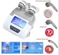 mejor cavitación ultrasónica al por mayor-MEJOR NUEVA LIPOSUCCIÓN DE VACÍO 5MHz ULTRASONIDOS 40KHZ CAVITACIÓN MULTIPOLAR TRIPOLAR RF LÁSER KAVITATION