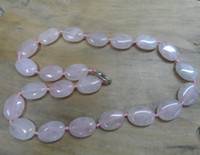 Wholesale Brazil Agate - Brazil natural powder crystal agate necklace America and Europe pop
