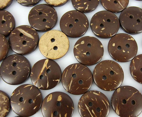 Chocolade Circular Coconut Button Kledingstuk Naaien Goede Tool 10mm