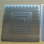top popular NEW 2pcs PS3 GPU 0.6mm BGA Directly heat Stencil Template useful tool Sale 2019