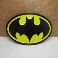 Wholesale Film Belt - BuckleHome Metal batman belt buckle film buckle with black color coating FP-02052 free shipping