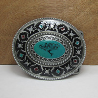 Wholesale Western Belt Wholesalers - BuckleHome Western belt buckle western buckle with pewter finish FP-02192 free shipping