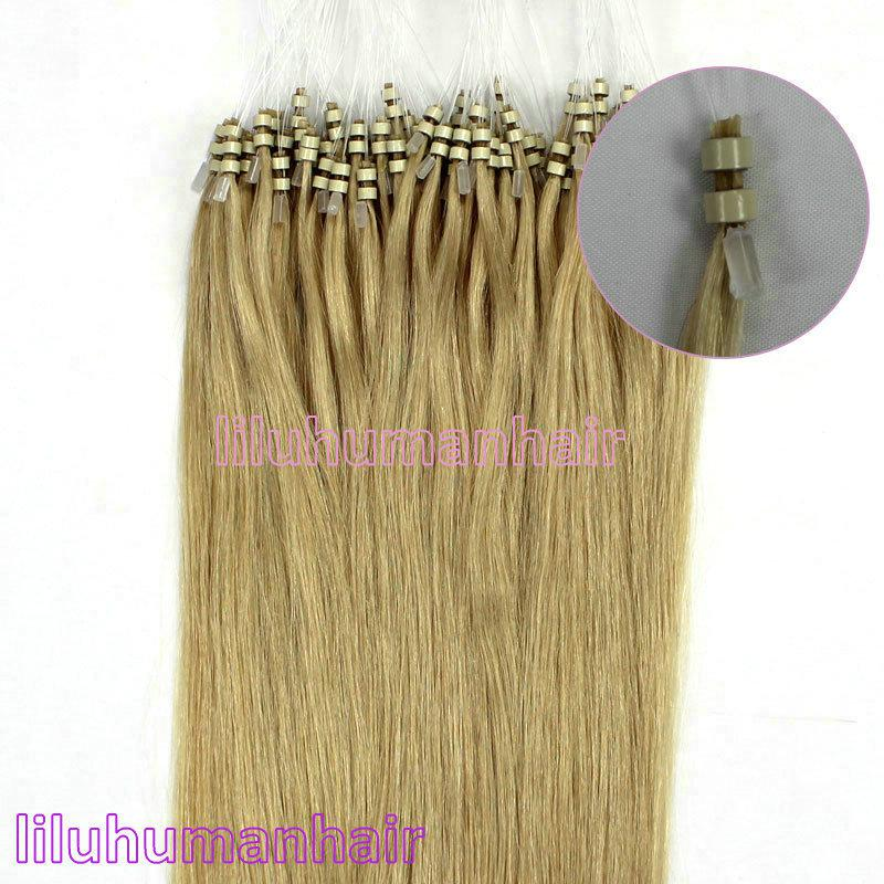 18 top quality 06g 100strands double silicone loops micro ring 18 top quality 06g 100strands double silicone loops micro ring beaded remy human hair extensions 24 medium blonde hair extensions micro bead micro bead pmusecretfo Choice Image