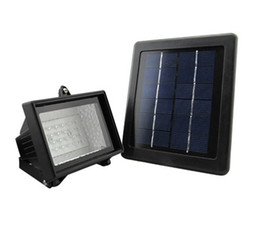 Wholesale Led Bead Lamps - DHL Free garden solar flood light 28 LED beads Energy saving courtyard outdoor lamp AB2643