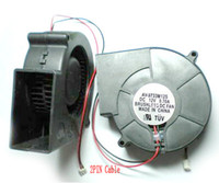 sopladores de turbina al por mayor-Ventilador DC Ventilador 12V 97MM x 97MM X 33 MM Turbina de enfriamiento sin escobillas