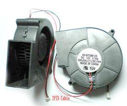 Wholesale Dc Cooling Blower Fan 12v - DC Fans 12V 97MM x 97MM X 33 MM Turbine Brushless Cooling Blower Fan