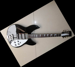 Wholesale Black 12 String Electric Guitar - New Model 330 12 strings black electric guitar Musical Instruments 120226