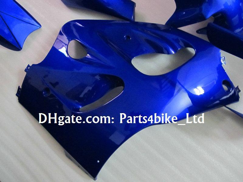 Blue ABS Fairings för 1996 1997 1998 1999 2000 Suzuki GSXR 600 750 GSXR600 GSXR750 96 97 98 99