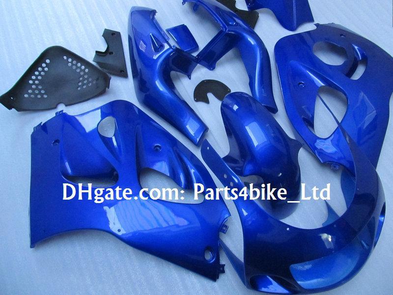 All Blue Custom Fairing Kit voor 1996-2000 Suzuki GSXR 600 750 GSXR600 GSXR750 96 97 98 99 R600