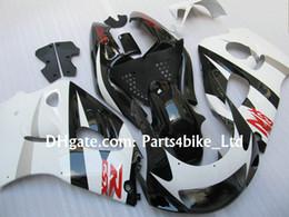 Wholesale 1997 Suzuki Fairing Kit - white black red fairing kit for 1996-2000 SUZUKI GSXR 600 750 GSXR600 GSXR750 96 97 98 99 R600