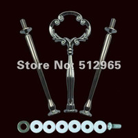 Wholesale Cake Stand Handles Wholesale - 3 Tier cake stand centre handle cake stand handle cake stand fitting 100pcs lot free shipping