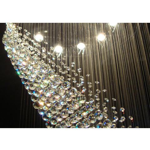 araña de cristal k9 lámpara de cristal sala de estar Diámetro 600mm