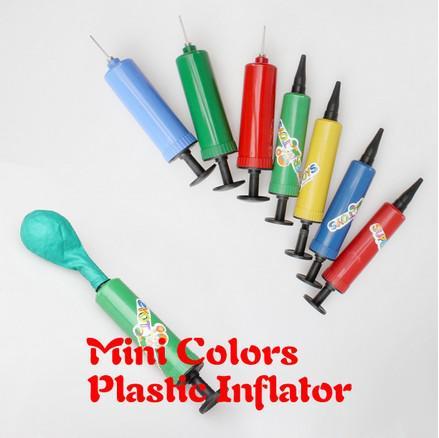 2018 Plastic Mini Colors Inflator Hand Air Pump For