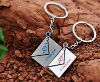 Wholesale Personalized Couple Key Chains - Chinese Style Gift Envelope Couple Key Chain Key Chain Personalized Male Pendant Gift