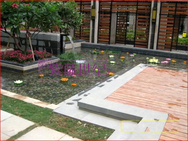 ホームガーデン装飾10cmシミュレーションフラワー人工シルクロータスフラワーフローティング水プラント