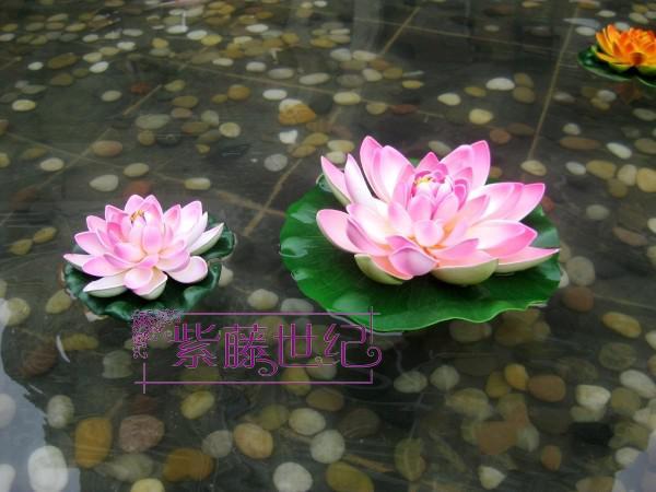 2018 60cm simulation flower artificial silk lotus flower floating 2018 60cm simulation flower artificial silk lotus flower floating water plants pink color from beltseller 2792 dhgate mightylinksfo