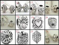 Wholesale 20 off Silver beads charm Chamilia amp Biagi jewelry bead Bracelet