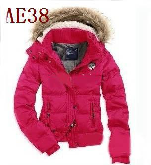 Online Cheap New Women's Ae Hot Pink Down Coat Jacket Winter Parka ...