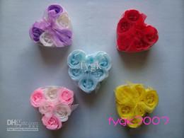 Wholesale Novelty Soaps Wedding - 240pcs Artificial Soap Rose Flower Flowers Wedding&Christmas&Valentine's Day Novelty Gift(6pcs=1box)
