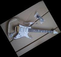 Wholesale Electric Guitar Plexiglass - New arrival Transparent Plexiglass electric guitar 6 Strings free shipping 0115