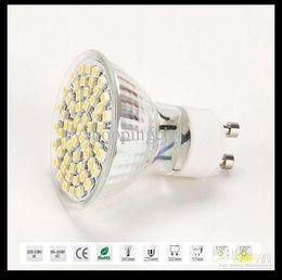 Wholesale Office Spot Lights - X40 LED Spot Light GU10 E27 E14 Warm White 3528 60 SMDs 4.5W Bulb Lamp 110V-130V 220-240V Office Living Rome LED Bulbs Big discout By DHL
