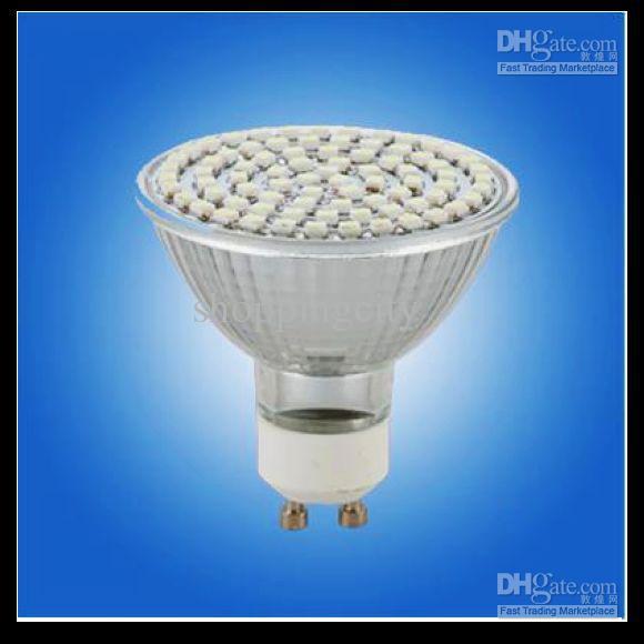 X40 LED Spot Light GU10 / E27 / E14 Warm Wit 3528 60 SMD's 4.5W Lamp Lamp 110V-130V 220-240V Office Living Rome LED-lampen Groot Discout door DHL