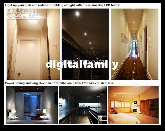 X40 LED Spot Light GU10/E27/E14 Warm White 3528 60 SMDs 4.5W Bulb Lamp 110V-130V 220-240V Office Living Rome LED Bulbs Big discout By DHL