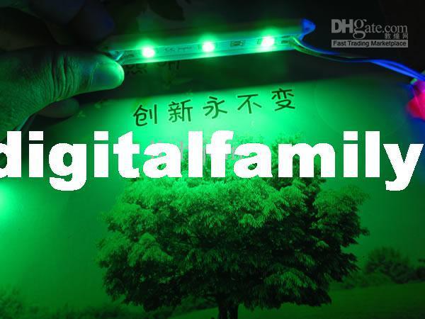 Bakgrundsbelysning LED-teckenmoduler LED-modul Jullampa Ljus 5050 3 LED-moduler Gul / Grön / Röd / Blå / Vit / Varm Vit Vattentät IP65 DC12V