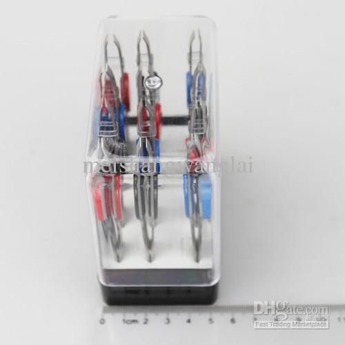 Pince à épiler en métal outil de maquillage / pince à épiler en acier inoxydable pince à épiler pince à sourcils 100 mm de long