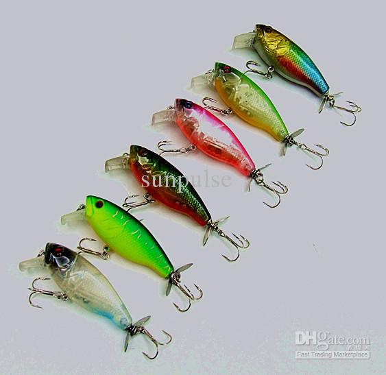 14.5g 7.2cm Crank Baits Fishing Lure Artificial Hard Bait Casting Lure China Fishing Tackle Plastic lip Spinner Tail Floating