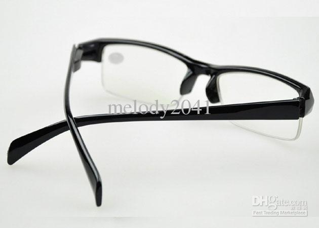Miyopi Optik Çerçeve Reçete Gözlük Shortsightedness Gözlük Yarım Siyah Çerçeve Ucuz Gözlük Okuma Gözlükleri 20 adet Ücretsiz Gemi
