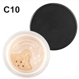 Barato 8g De Minerais-24 pcs / lot Makeup Minerals Foundation Fair C10 8g New Click / Lock Loose Face Powder DHL Frete Grátis