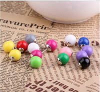 Wholesale Sweet Candy Sale Shipping - HOT SALE, Sweet candy earring studs Ear Pin+free shipping drop shipping 250pcs lot