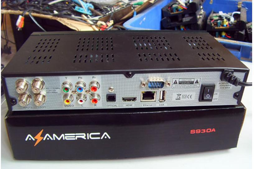 Az america S930A twin tuner satellite receiver for south America Nagra3  Free shipping