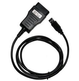 Correção de milhagem eeprom on-line-5 PCS Vag Tacho 3.01 Opel Immo Airbag Conector Do Cabo de Diagnóstico OBD2 OBD II Eeprom Immo Pin Quilometragem Correção