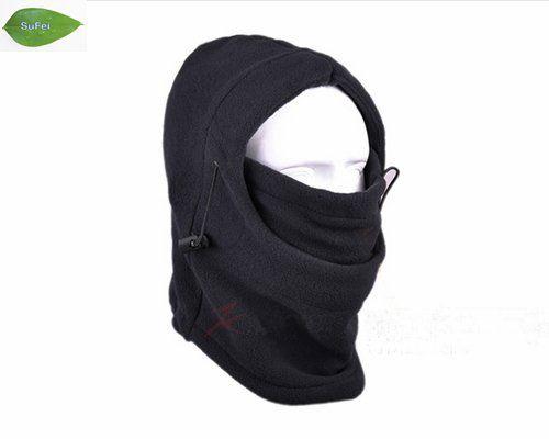 30d23b8397938 2019 Black Warm Full Face Cover Winter Ski Mask Beanie Hat Scarf ...