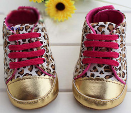 Wholesale Leopard Walking Shoes - Baby First Walker Shoes Toddler Casual Shoes First Walking Shoes Infant Leopard Shoes Toddlers Shoes