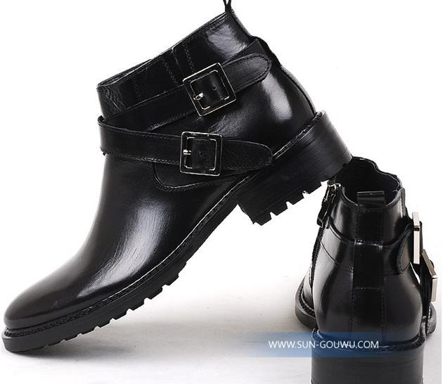 New Arrival Men Boots British Fashion Men Short Boots High Help ...