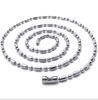 20''-28in Stainless steel bamboo joint chain necklaces 316L necklace 20pcs lot 2.4mm Christmas gifts