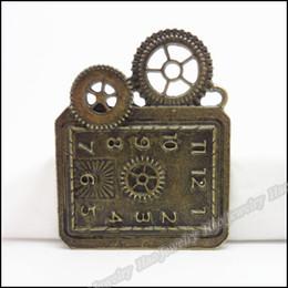 glockenhalskettenarmband Rabatt Charme-antike Bronzelegierungs-Bell-Anhänger-passende Armband-Halskette DIY Schmuck Fitting 20pcs / lot