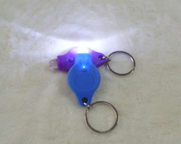Wholesale Hand Pressing Flashlight - LED Light Keychain car keychain Portable Hand-Pressing Flashlight Car Key Chain gifts