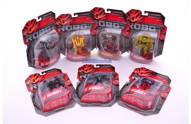 Fri leverans! 7 st: Robotbilen Leksaker A ++