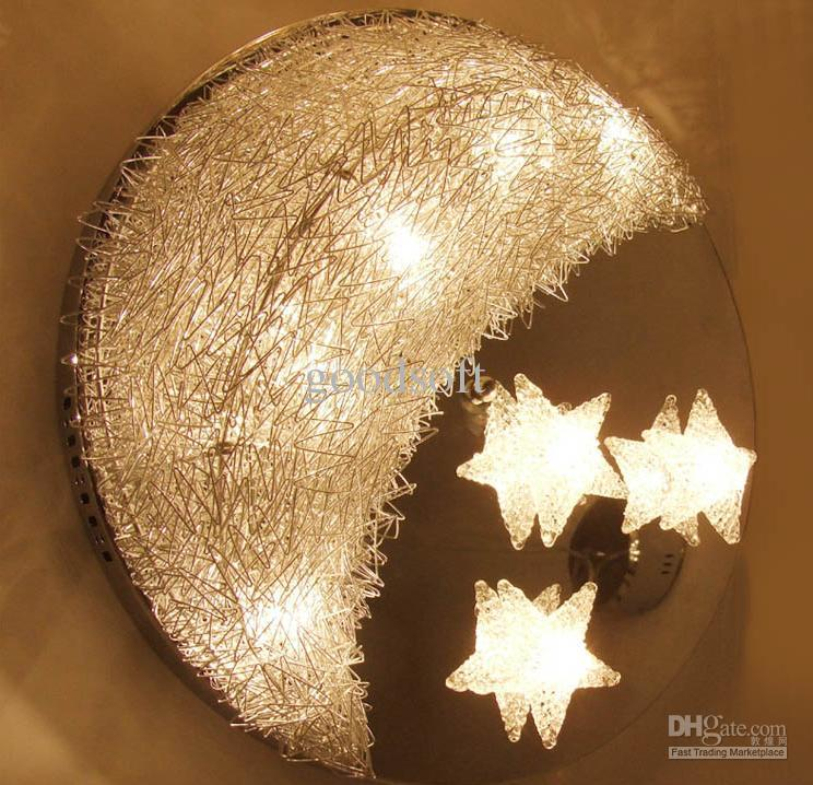 2017 New Aluminum Ceiling Lights The Stars Moon Lamp. Moon And Stars Ceiling Light   Ceiling Designs