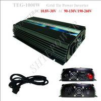 netz angeschlossener wechselrichter großhandel-1000 watt Auf Rasterfeldriegel Solar Power Inverter 1KW, DC 10,8 V ~ 30 V zu AC 110 V (90-150 v)