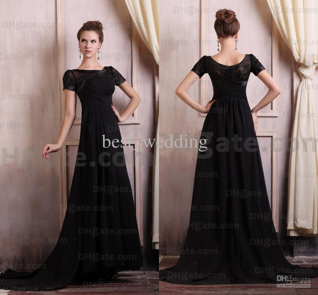 Modest Long Black Dress Online Shop Bacaa 5a8c3