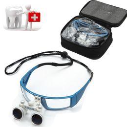 Wholesale Dental Optical Binocular Loupes - New design Fashion Dental Surgical Medical Binocular Loupes 3.5X 420mm Optical Glass Loupe-1528 Free Shipping