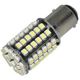 Wholesale 1157 smd - 1157 BAY15D White 80 SMD LED STOP BRAKE CORNER SIDE TAIL LIGHTS BULBS 1pc lot sample also wholesale