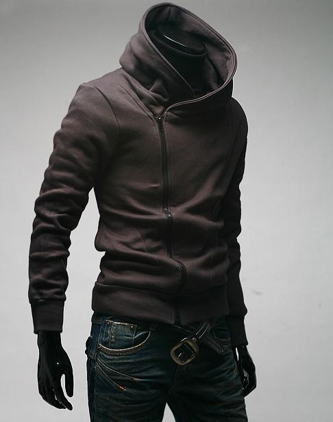 Assassin's Creed мужчины толстовки хип-хоп толстовка кардиган Slim fit корейский стиль толстовка куртка воротник с длинными рукавами толстовка